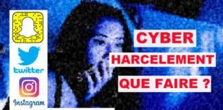 cyber harcèlement que faire