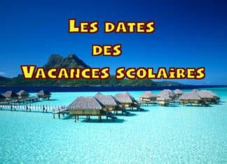calendrier vacances scolaires 2021