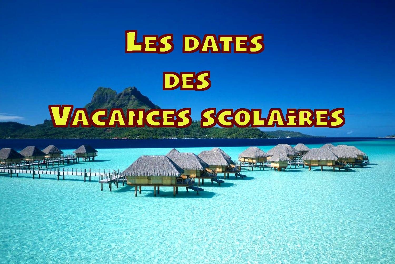 calendrier vacances scolaires