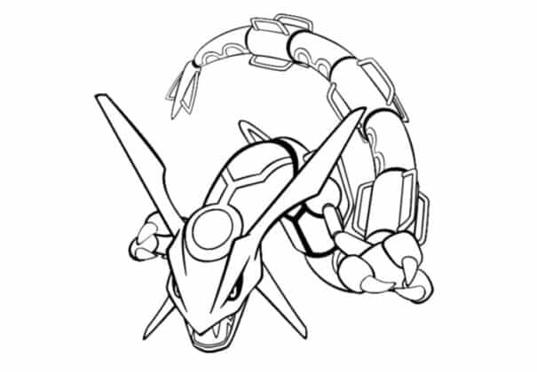 pokemon legendaire Meca Rayquaza