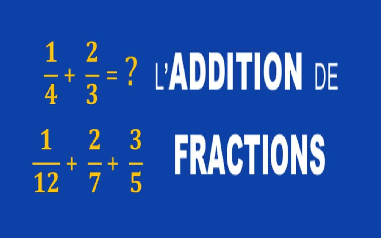 addition de fractions