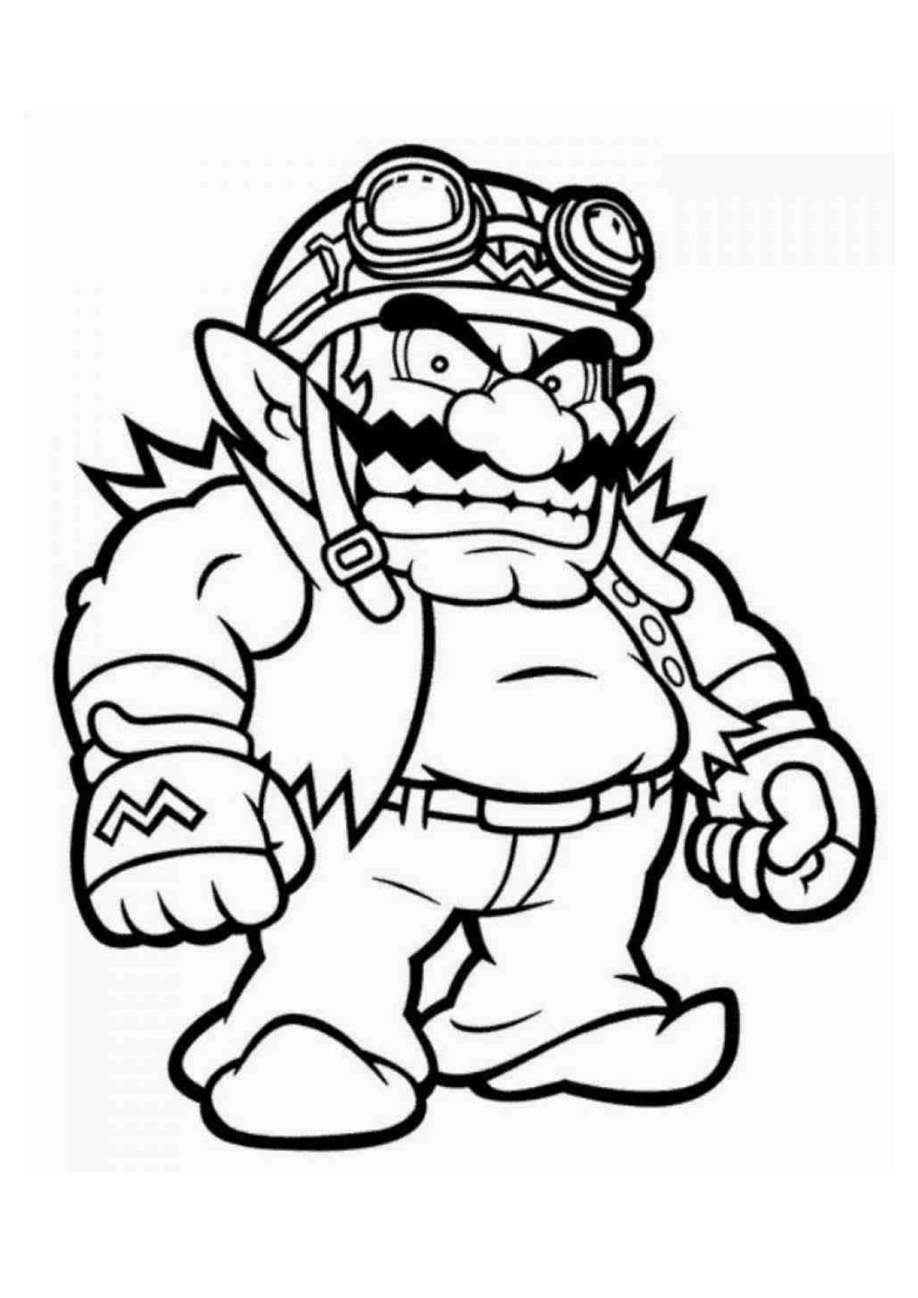 Coloriage Mario | Notre livre à imprimer GRATUITEMENT