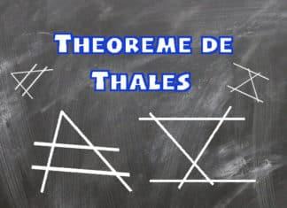 theoreme de Thales