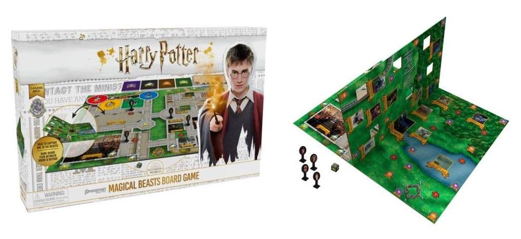 jeux de société Harry Potter Magical Beasts
