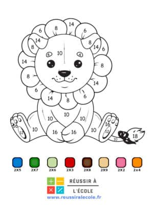 coloriages magiques multiplication