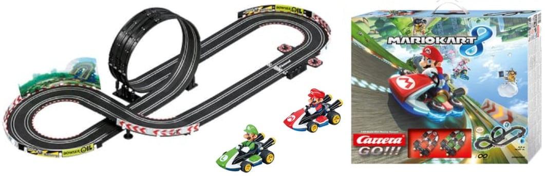 circuit voiture electrique carrera mario kart 8