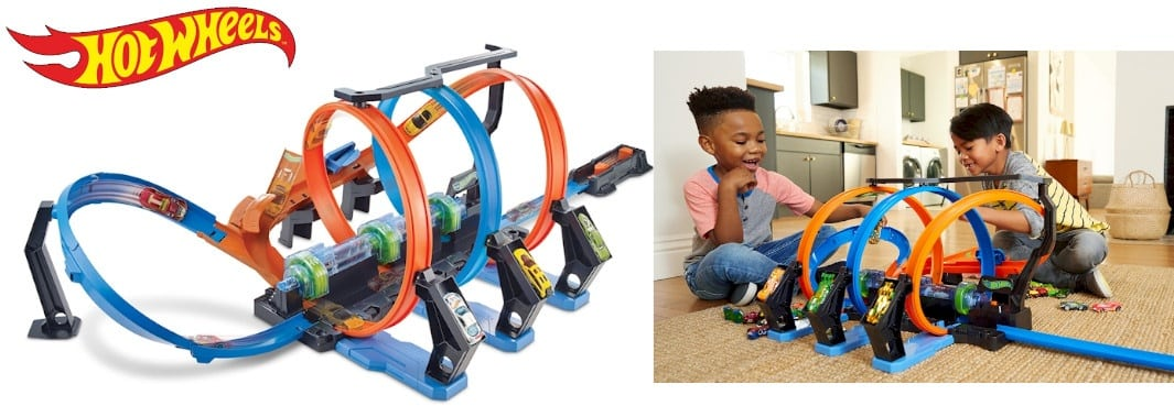 circuit voiture electrique Circuit Hot Wheels Looping Infernal
