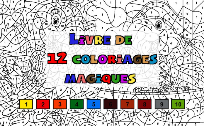coloriages magiques