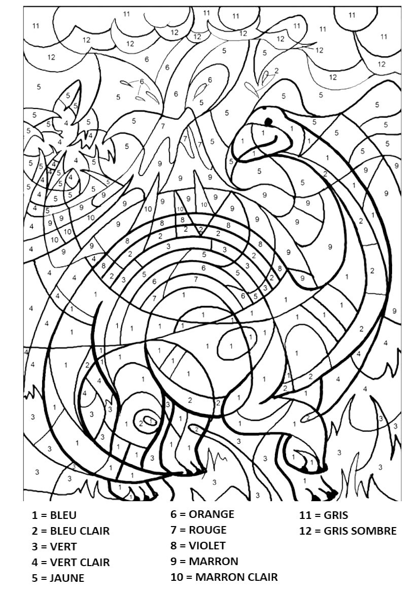 Coloriages Magiques Gratuits 12 Images A Imprimer En 1 Clic