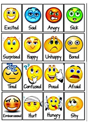 exprimer les émotions en anglais