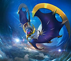 pokemon legendaire lunala