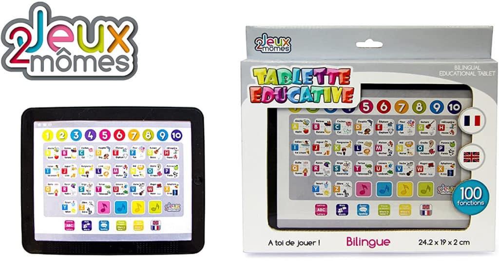 tablette educative bilingue