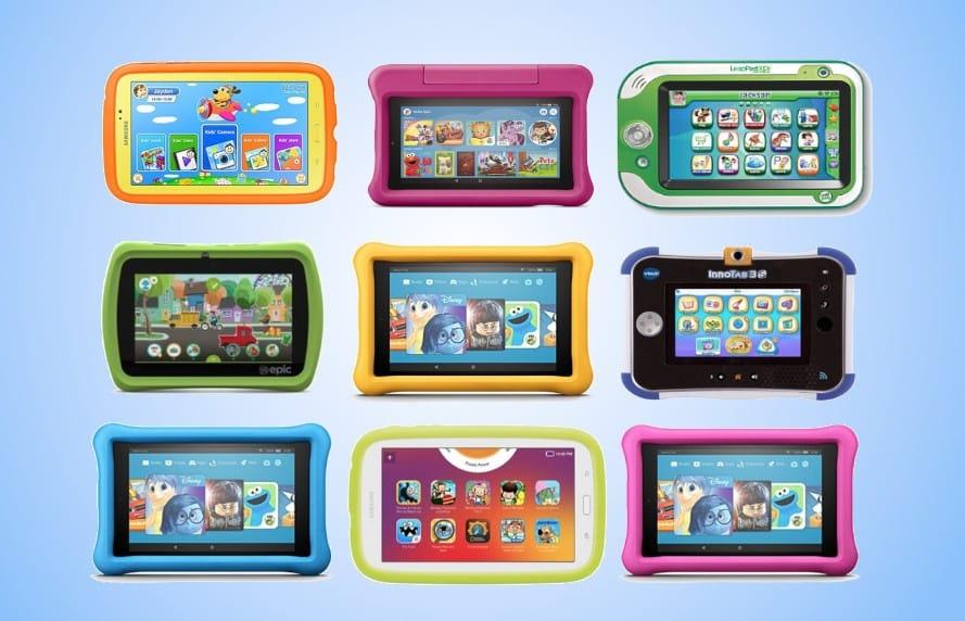tablettes pour enfants