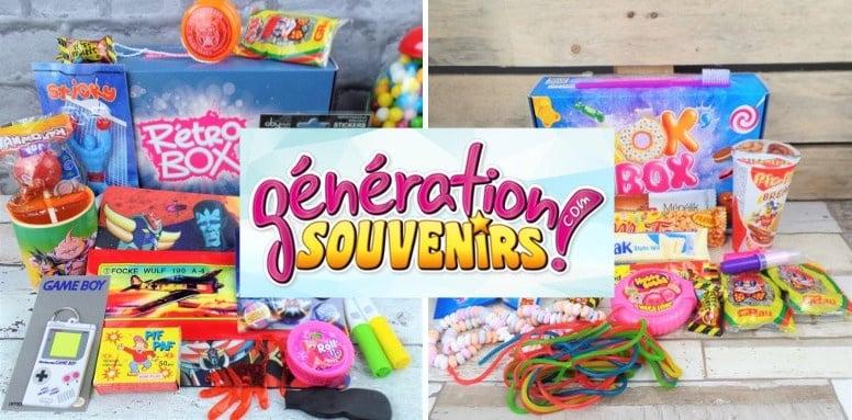 box bonbons generation souvenirs