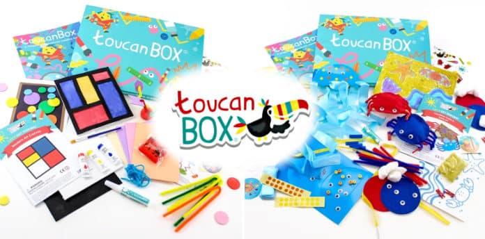 box enfant toucan box