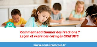 comment additionner des fractions