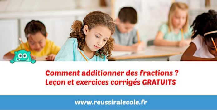 comment additionner des fractions