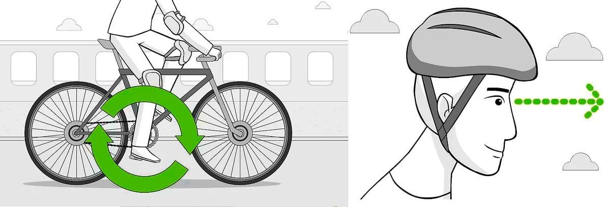 apprendre le vélo