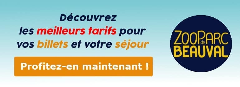 Code promo Zoo de Beauval