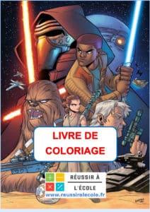 LIVRE DE COLORIAGE STAR WARS