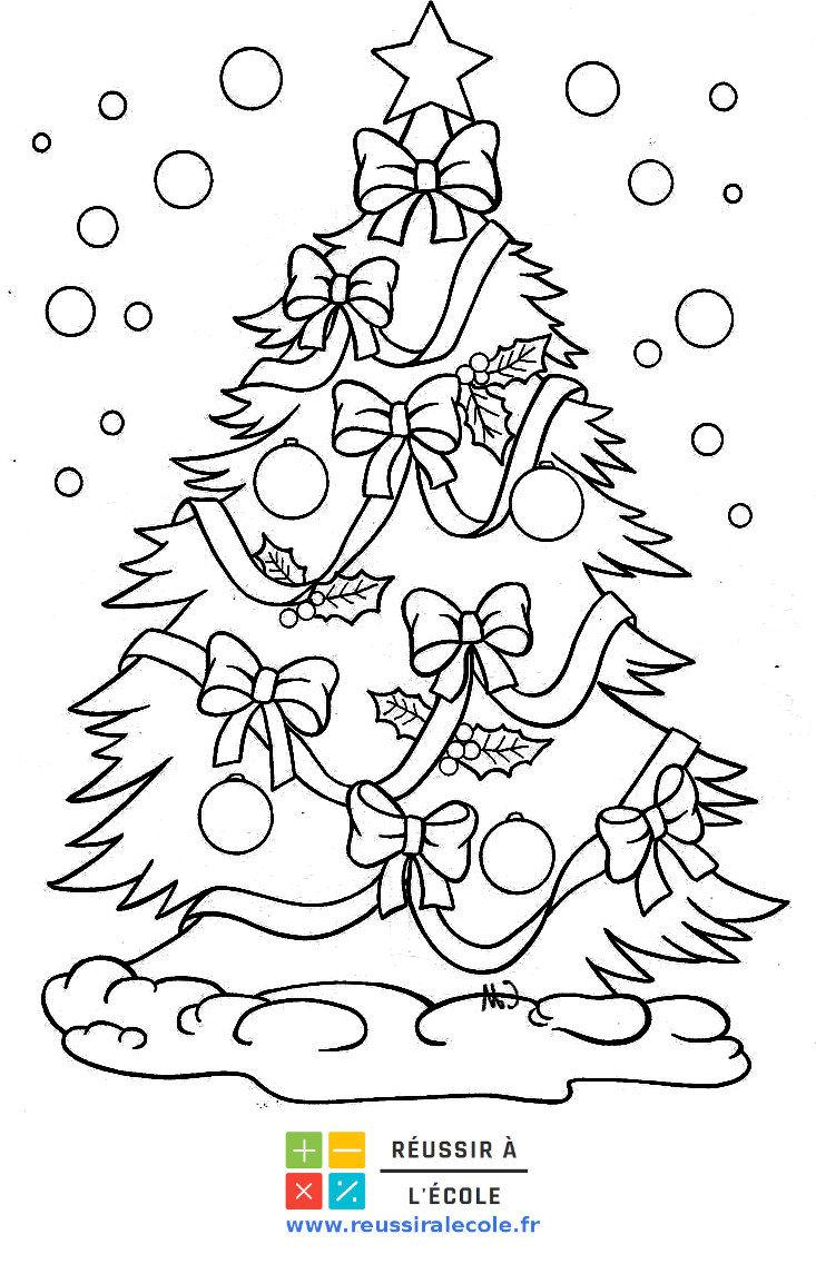 Coloriage Noel | 30 images inédites à imprimer GRATUITEMENT