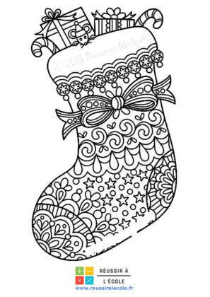 dessin de noel à imprimer