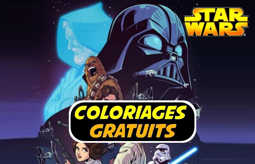 coloriage star wars
