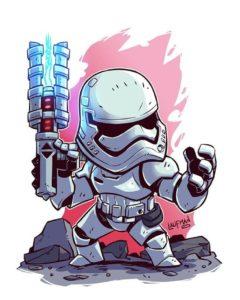 Dessin Stormtrooper