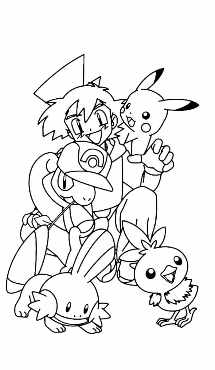 Coloriage Pokemon Rare Notre Livre Gratuit A Colorier