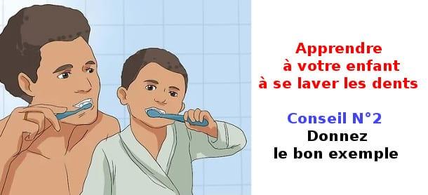 apprendre a se laver les dents