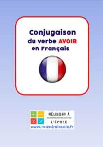 Avoir Conjugaison Tableaux De Conjugaison Et Exercices En Ligne