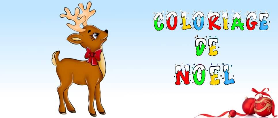 coloriage de Noel à imprimer