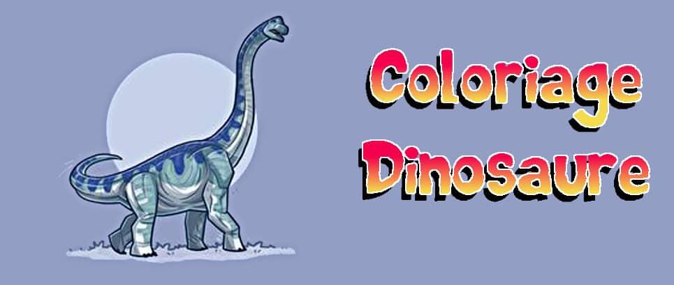 coloriage diplodocus imprimer