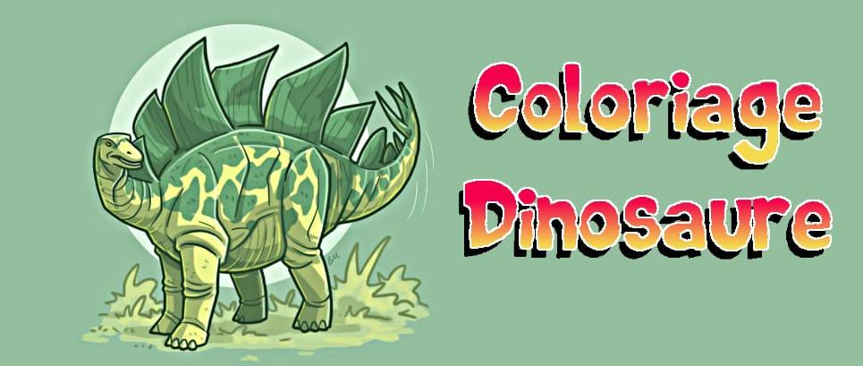 coloriage dinosaure a imprimer