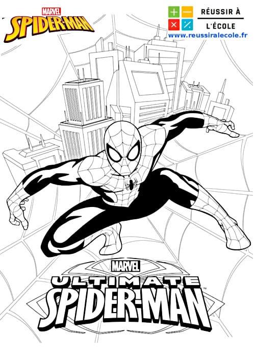 Coloriage Spiderman Gratuit 15 Images A Telecharger Et A Imprimer