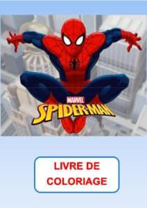 coloriage spiderman pdf