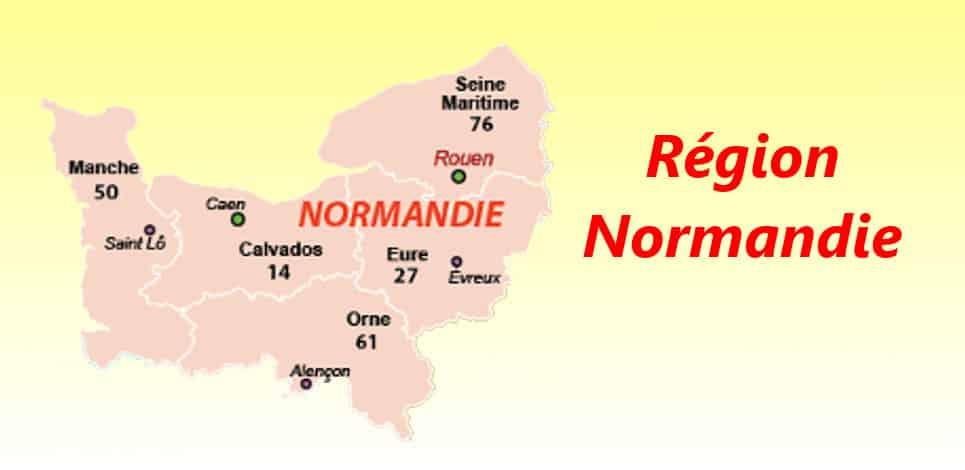 carte des departements français