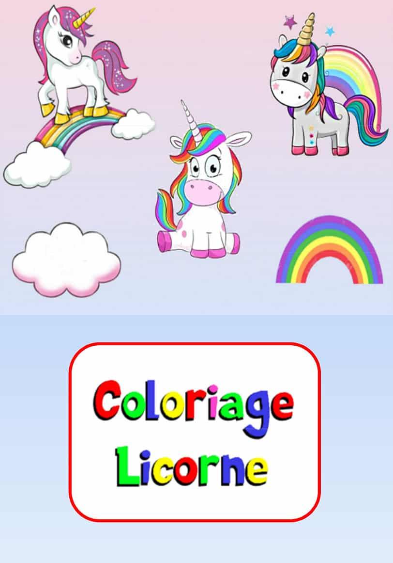 Coloriage Licorne A Imprimer 20 Images A Telecharger Gratuitement