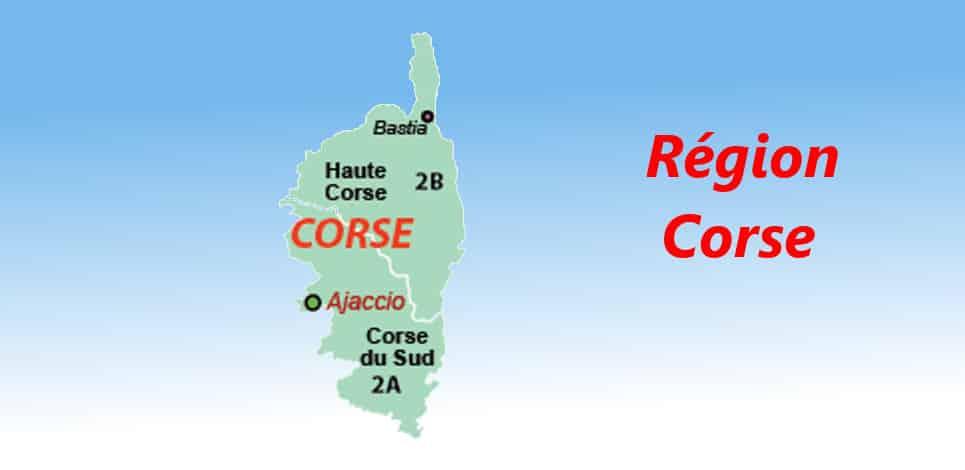 region française la Corse