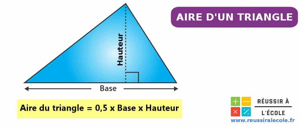 aire d un triangle