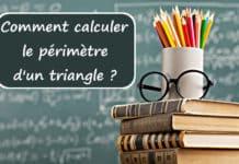 calculer le perimetre d un triangle
