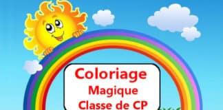 coloriage magique CP