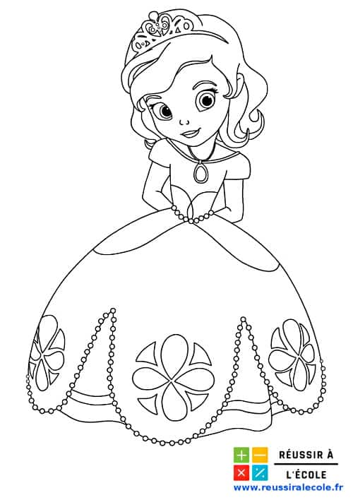 Coloriage Princesse Gratuit 25 Dessins A Imprimer En 1 Clic