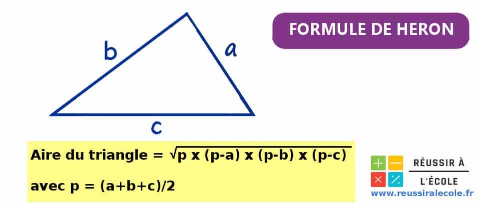 formule de Heron
