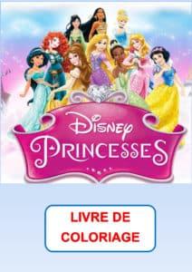 livre de coloriage princesse pdf
