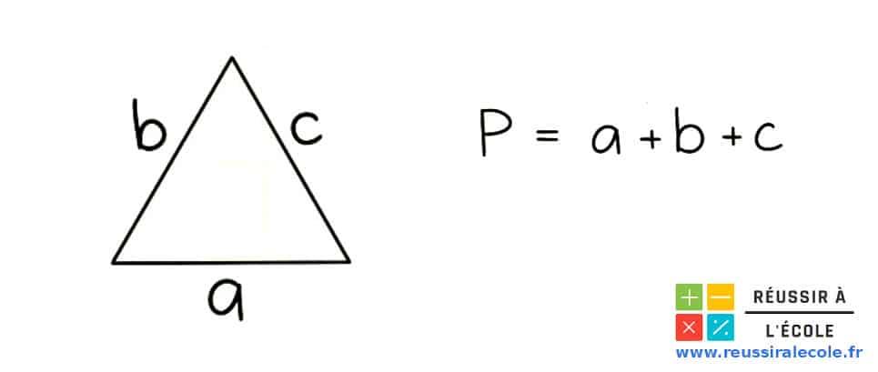 formule perimetre triangle