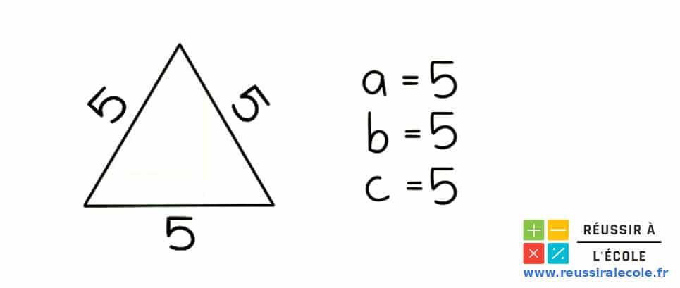 périmètre d un triangle