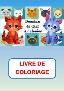coloriage chat à imprimer pdf