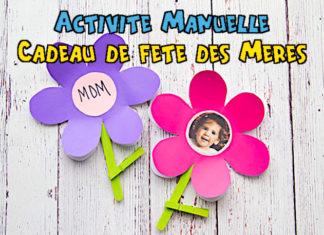 activité manuelle fête des mères