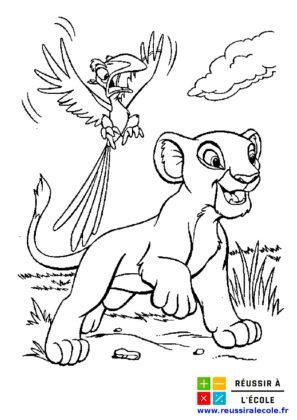 coloriage à imprimer Disney